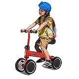 likeitwell Kinder Laufrad Balance Lauflernrad Gehhilfe Höhenverstellbar Lauflernrad Rutschrad...