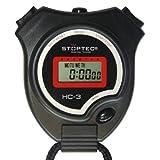 Schtt Stoppuhr Stoptec HC-3 / Digitale Stoppuhr mit Uhrmodus, Datum, Alarm, Stundensignal/fr den...