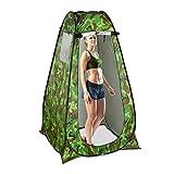 Relaxdays Duschzelt, Pop Up Stehzelt für Camping, Garten & Outdoor, Umkleide-& WC-Zelt, 200 x 120 x...
