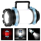 EXTSUD Multifunktionale Camping Lampe 1000 LM Handlampe Tragbare LED Camping Laterne Helle...