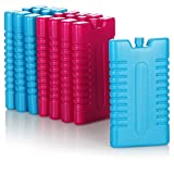 com-four® 8X Kühlakku für Kühltasche - Kühlelemente für Kühlbox - Kühlakkus für Haushalt...