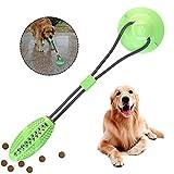 Multifunktions-Pet Molar Bite-Spielzeug, langlebiges Hundeschleppseil-Ballspielzeug mit Saugnapf,...