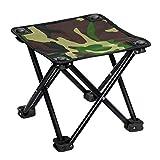 JCCOZ Folding Fischen-Stuhl Camping Stuhl Ultra Light Gartenstuhl -Compact beweglicher im Freien...