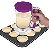 euwanyu Pancake Batter Dispenser Perfect for Baking of Cupcakes, Waffles, Cakes, Muffin Mix, Crepes,...