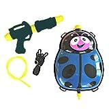 Funny Toys wasserkanone mit Tank 35,5 cm blau/schwarz 5-teilig