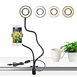 Yuhualiyi123 LED Mobile Live-Birnen-Licht Anker Schönheit Handy-Birnen-Ringlicht Live Stand Selfie...