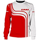 LIFE&SPORTOREY Männer T-Shirts Claas Lange Sleeve Digital Drucken Leisuresweatshirt 3D / B/XL