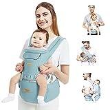 TOPERSUN Babytrage All In One Kindertrage Bauchtrage 3-Positionen Rückentrage Ergonomische...