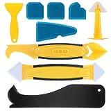 Silikon-Abdichtungswerkzeug-Set, 9-teilig, Dichtungsmittel-Entferner, multifunktional,...