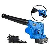 ALGWXQ Laubsauger/Elektro Gebläse/Cordless Gebläse/Schleifer Gebläse Vakuum & Shredder mit 1 l...