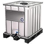 DIE BOX FABRIK IBC Container 1000 Liter NEU | auf PE-Palette | Einfüllöffnung: 225 mm |...