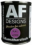 Alex Flittner Designs 1 Liter Kunstharz Lack Buntlack Kunstharzlack RAL4008 SIGNALVIOLETT glnzend