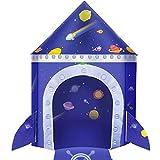 joylink Kinderspielzelt, Castle Spielzelt für Jungs Kleinkinder Spielzelt Spielzeug Tent Tragbare...