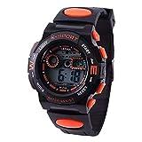 Kleinkind-Armbanduhr mit Kunststoff Armband wasserdichte Outdoor Sport-Smartwatch Kinder-Digitaluhr...