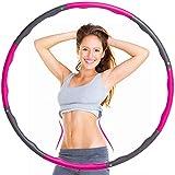 Dachma Hula Hoop Reifen Erwachsene Fitnessreifen - 1,5Kg Fitness Hoola Hoop Einstellbare Größe...