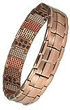 MPS Magnetische Armband, HOMERIR Magnetarmband für Männer, Mit bioelementen, Mit Tool zum...