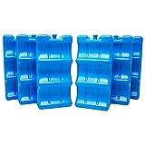 ToCi 6er Set Flaschen Kühlakku Dosen Kühlelement | 6 Blaue Kühlelemente für die Kühltasche...