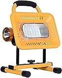genral LED tragbare Flutlichter Home, 20W 50W Akku wiederaufladbare Arbeitsflutlichter, Batterie...