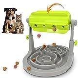 Alsanda Interaktives Hundespielzeug Katzenspielzeug Mit Anti Schling Hundenapf 2in1 für Hund und...