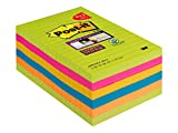 Post-it 4690-SSUC-P4+2 Super Sticky Notes Promotion, 101 x 152 mm...