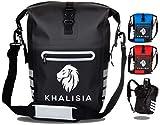 KHALISIA Speed Bag 3in1   Fahrradtasche für Gepäckträger mit Rucksack   Gepäckträgertasche...