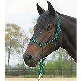 Knotenhalfter STANDARD, Pony/Vollblut, tanne