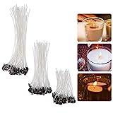 YeeStone Kerzendocht 150 Stück Kerzendochte Kerzen Dochte Candle Wick in 3 Verschiedenen Größen -...