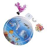 ALIANG Hängendes Aquarium Aquarium Wand Aquarium Acryl Aquarium Blumen Blumentopf Multifunktionaler...