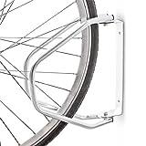 Relaxdays Fahrradständer zur Wandmontage, Wandhalterung für 1 Fahrrad, Verzinkt, Verstellbar, HBT:...