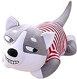 ypzzPlüsch-Spielzeug 80cm Nette Plüsch-Hundespielzeug Cartoon Plüschtiere weiche Husky-Hund...