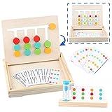 Sunarrive Montessori Spielzeug Holz Puzzle Sortierbox Lernspiele - Holzpuzzle Spiel - Sortierspiel...
