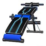 Verstellbare Sit Up AB Bank, Faltbare Decline Bank mit Reverse Crunch Griff für Home Gym Ab...