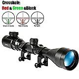 HXC Zielfernrohr 3-9x40EG Rot Und Grün Taktische Dot Optik Pistolenfernrohr Fadenkreuz mit 20 mm...