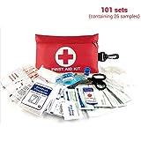 Saihua AutoOutdoorErsteHilfeSet, Multifunktions-Erste-Hilfe-Set Survival Emergency Kit mit Karabiner...