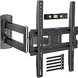 TV Wandhalterung, Schwenkbare Neigbare Halterung für 26-55 Zoll LED, LCD, Flach&Curved Fernseher...