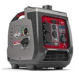 Briggs & Stratton 030800 Benzin Inverter Stromerzeuger Generator der PowerSmart Serie P2400 mit 2400...