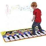 GAOYANZI Klaviermatte Für Kinder, 110 * 36CM Große Klaviermusik Tanzmatte Für Kleinkinder -...