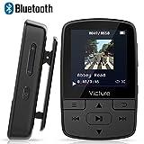 Victure Bluetooth MP3 Player 8GB Mini Sport Musik Player mit Clip, 30 Stunden Wiedergabe Musikplayer...
