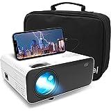 Mini Beamer Full HD, Waygoal Native 720P Heimkino Beamer, 5500 Lumen Projektor, 1080P Unterstützt...