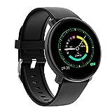 Amoy Smart Watch, wasserdichte Bunte Full Touch Screen-Fitness Tracker (mit Herz-Rhythmus),...