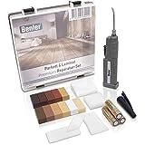 BENLER NEU! - Holz Reparaturset mit 2in1 Wachsschmelzer für Laminat, Parkett & Vinyl - Reparatur...