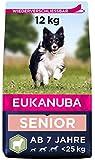 Eukanuba Hundefutter mit Lamm & Reis für kleine und mittelgroße Rassen - Trockenfutter für Senior...