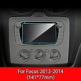 RZL TPU-Auto-Schirm-Schutz for Ford Focus 3 4 MK3 MK4 GPS Navigation Anti-Glare-Bildschirm TPU...