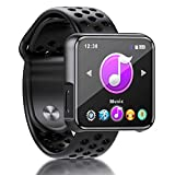 MP3 Player, SEWOBYE Voller Touchscreen MP3 Player Bluetooth, Fitness Bluetooth MP3 Player Sport mit...