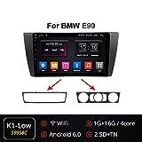 Android 9.0 9'Auto Stereo Navigationssystem 2 Din Fr BMW E90 E91 E92 E93 Untersttzung BT WiFi SWC...