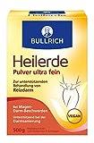 Bullrich Heilerde Pulver ultra fein | zur inneren und äußeren Anwendung | Hilfe bei Akne,...
