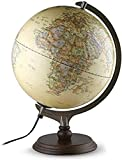 NBVCX Lebensdekoration 2 in 1 LED World Globe Desktop-Dekoration Geografische interaktive Erdkugeln...