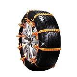 N / C 10 Auto-Schneeketten, Schneeketten, Reifen-Schneeketten, geeignet für jedes Auto mit Einer...
