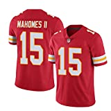 # 15 MAHOMES Rugby-Trikot, American-Football-Trikot Rugby-Trikot Match Training Kleidung...