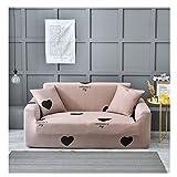 wjwzl Sofahusse, Polyesterfaser, rosa Druck, elastisch, rutschfest, für Kinder, 1 seat Sofa...